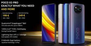 POCO X3 PRO 6.6 Lazada โทรศัพท์มาแรง !! ราคาพิเศษ พร้อมกดรับคูปองก่อนใคร จัดเลย !!